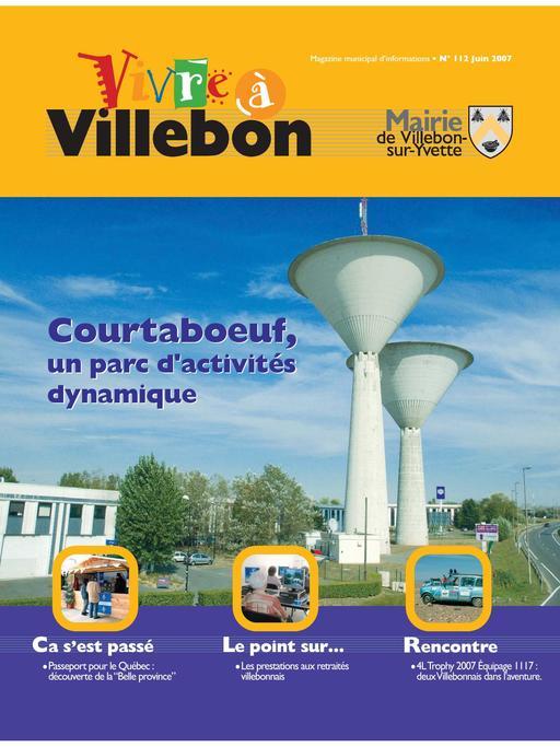 Vivre à Villebon n°112 à n°129 - juin 2007 à novembre 2010