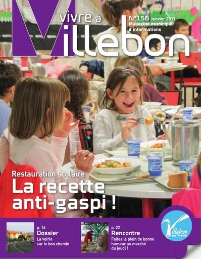 Vivre àVillebon n°156 - janvier 2017