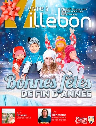 Vivre à Villebon n°143 - décembre 2013