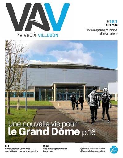 Vivre à Villebon n°161 - avril 2018