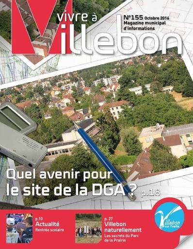 Vivre à Villebon n°155 - octobre 2016