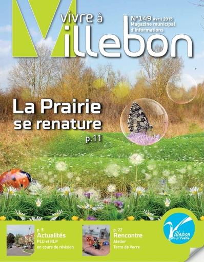 Vivre à Villebon n°149 - avril 2015
