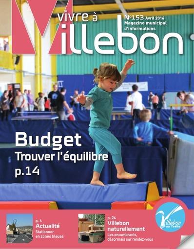 Vivre à Villebon n°153 - avril 2016