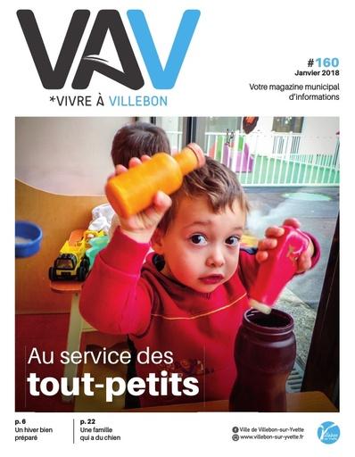 Vivre à Villebon n°160 - janvier 2018