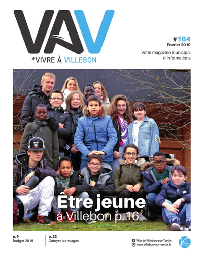 Vivre a Villebon n°163 - novembre 2018