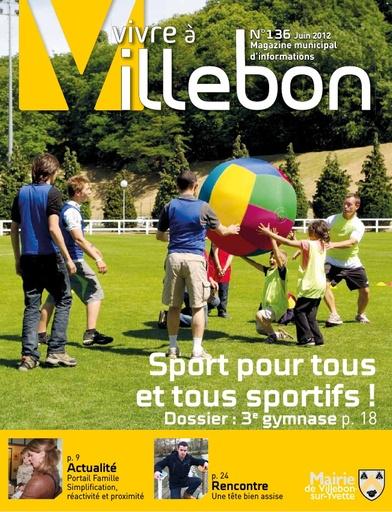 Vivre à Villebon n°136 - juin 2012
