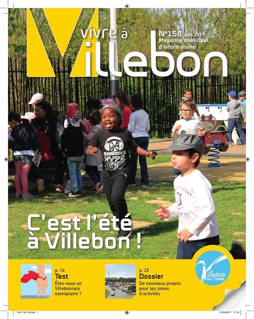 Vivre à Villebon n°158 - juin 2017