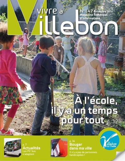Vivre à Villebon n°147 - novembre 2014