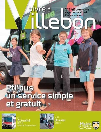 Vivre à Villebon n°142 - octobre 2013