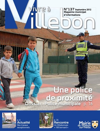 Vivre à Villebon n°137 - septembre 2012