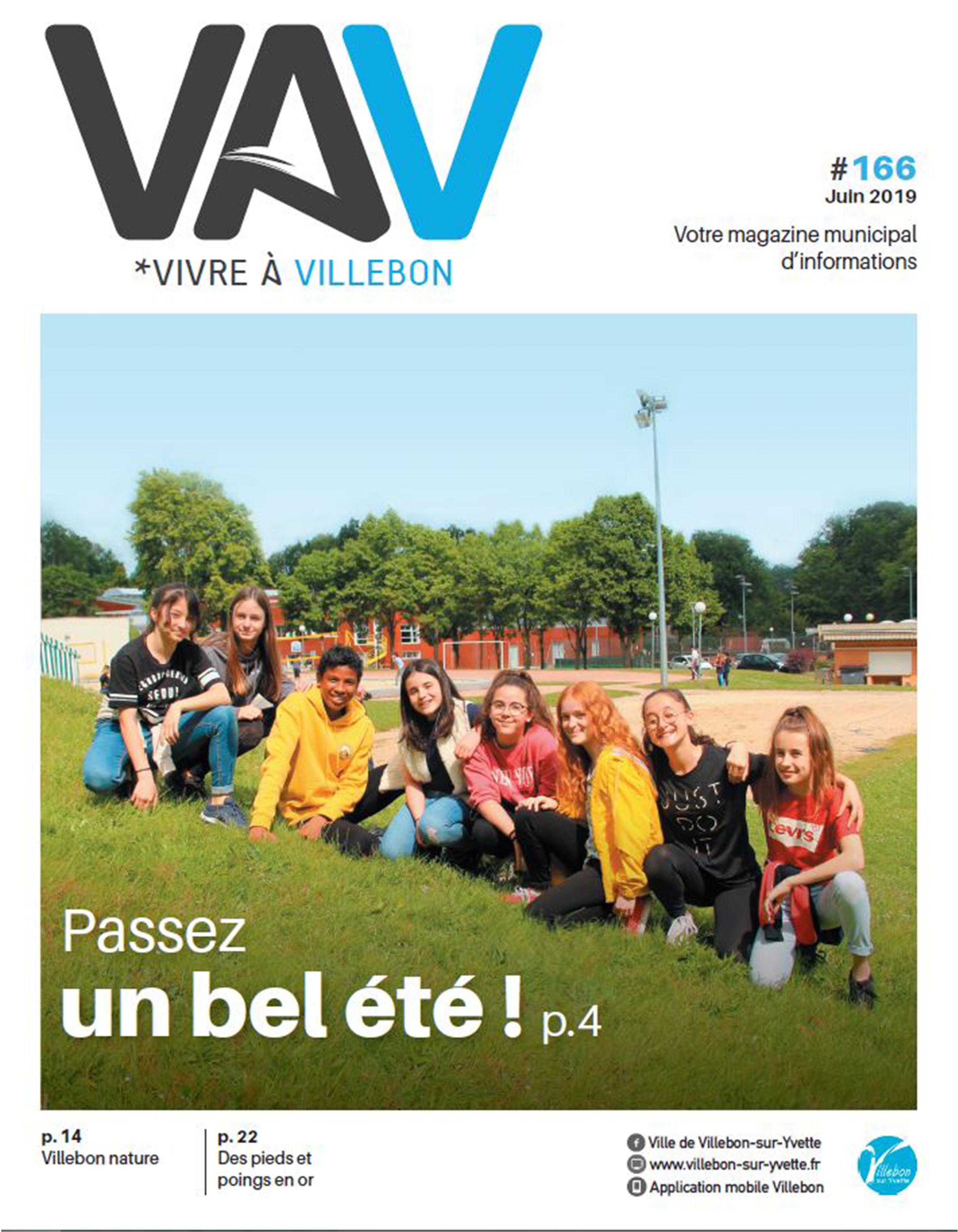 Vivre à Villebon n°166 - juin 2019